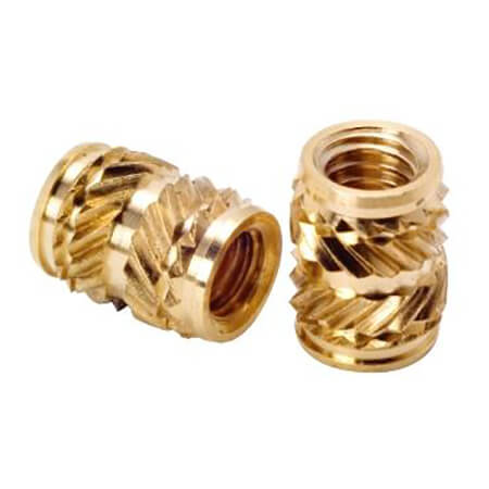 Brass Threaded Inserts - 5-8,SEB-008