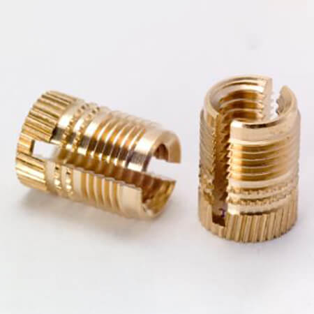 Knurled Sett inn mutter - 5-10,SEB-010